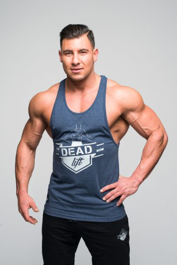 tank top męski logo deadlift