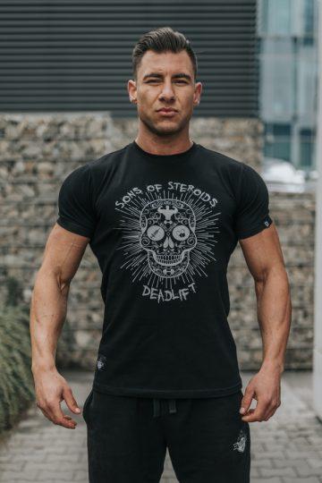 tshirt męsi sportowy steroids