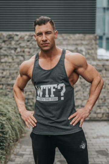 tank top męski na siłownię