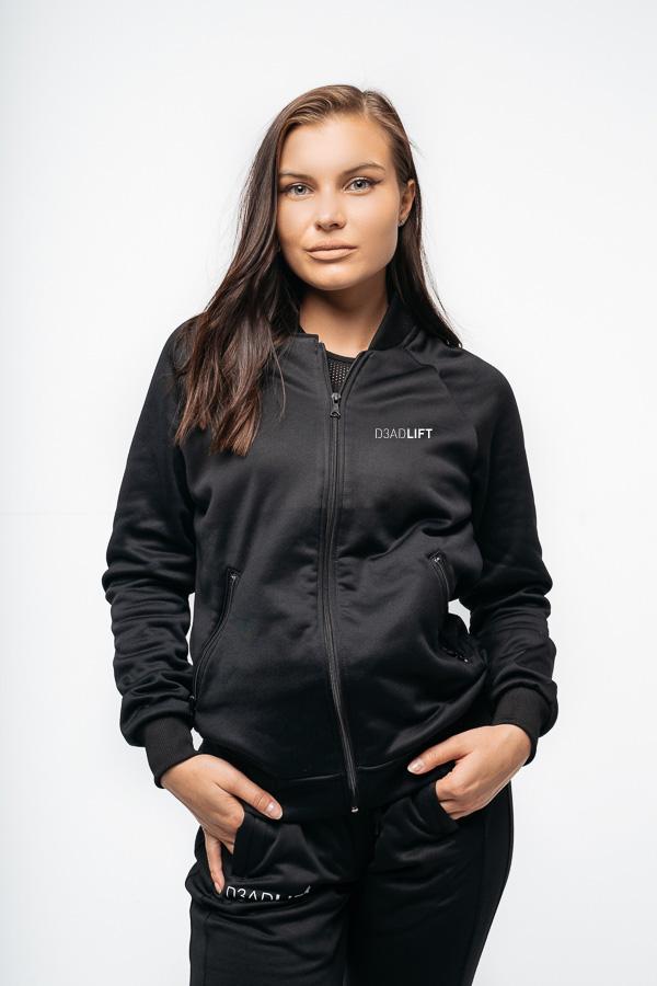 bluza sportowa damska czarna