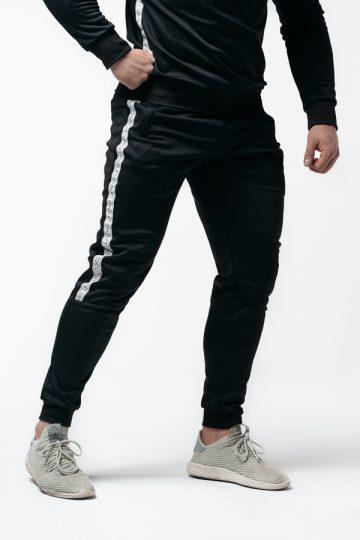 spodnie dresowe męski slim fit