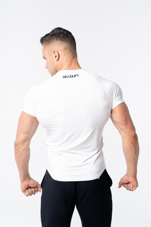 t-shirt męski slim fit