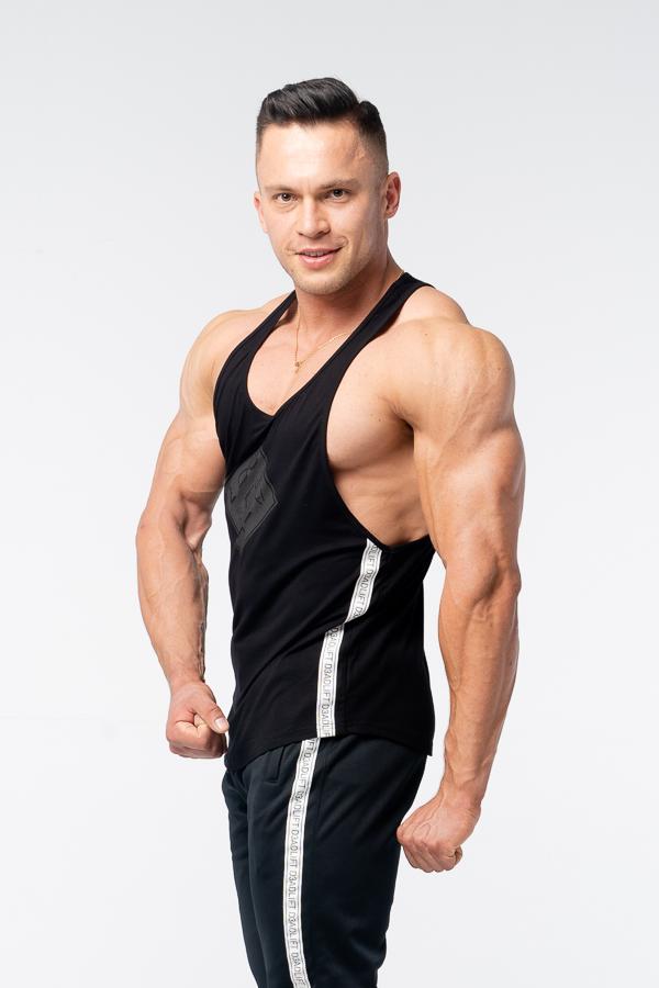 tank top sportowy na trening