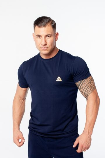 t-shirt sportowy męski