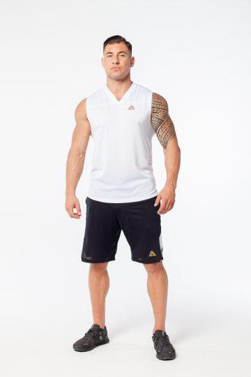 Krótkie spodenki sportowe męskie - dresowe, treningowe szorty