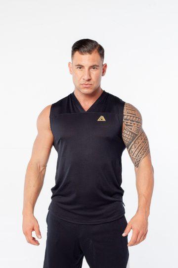 przewiewna koszulka męska z siateczki